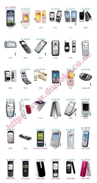 daftar harga Nokia Baru-Second September 2011