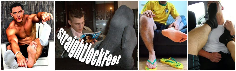 Straight Jock Feet