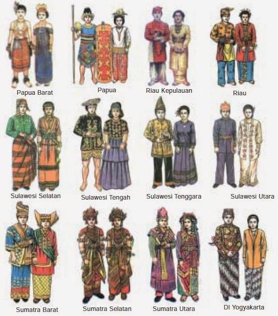 Daftar Gambar Pakaian Adat atau Pakaian Daerah Provinsi di ...