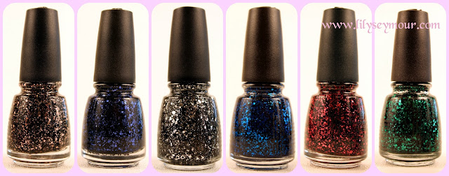 China Glaze Glitz-N-Pieces Collection
