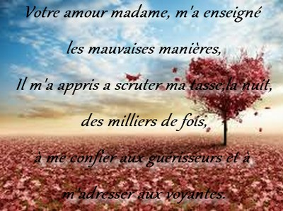 Belle rencontre d'amour poeme
