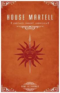 emblema casa Martell- Juego de Tronos en los siete reinos