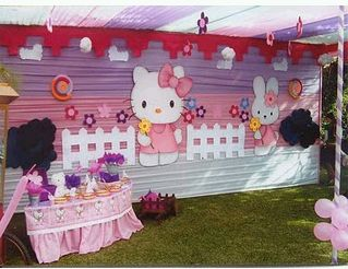 Hello Kitty decoration for children parties