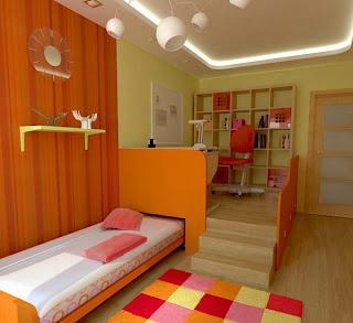 kamar+tidur+remaja+wanita+muda Ide Kreatif Kamar Tidur Remaja