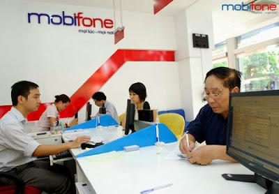 Hòa mạng mới thuê bao trả sau tại các điểm giao dịch Mobifone