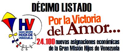 """La misión hijos de Venezuela toma """" hogares en situación de pobreza"""