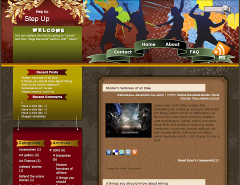 NBA Jam Blogger Theme