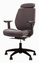 Gray FX2 Task Chair by Eurotech