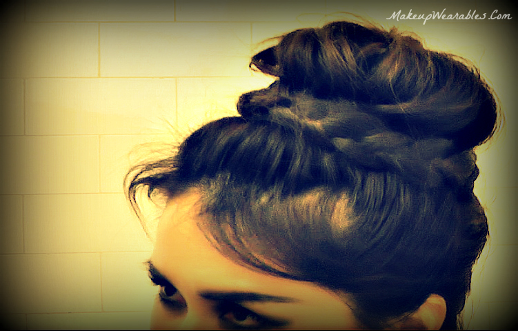 Up Side Down Lace French Braid Bun Hairstyles Hair Tutorial Video