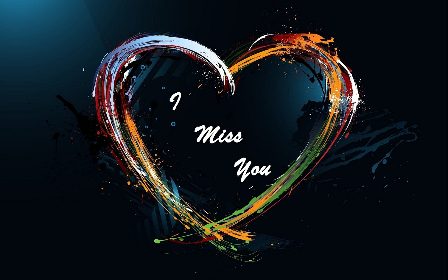 I Miss You Images HD Love Heart