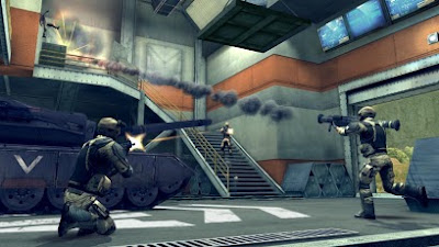 Modern combat 4: Zero Hours action android game