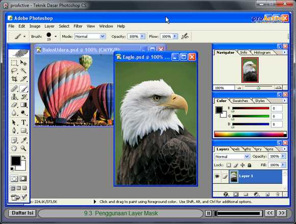 Video Tutorial Adobe Photoshop Bahasa Indonesia
