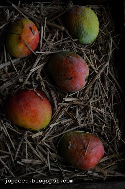 Mango, Mint & Lychee Smoothie