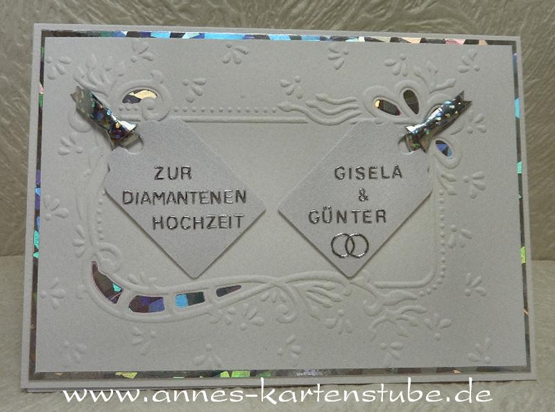 Annes Kartenstube: Zur Diamantenen Hochzeit