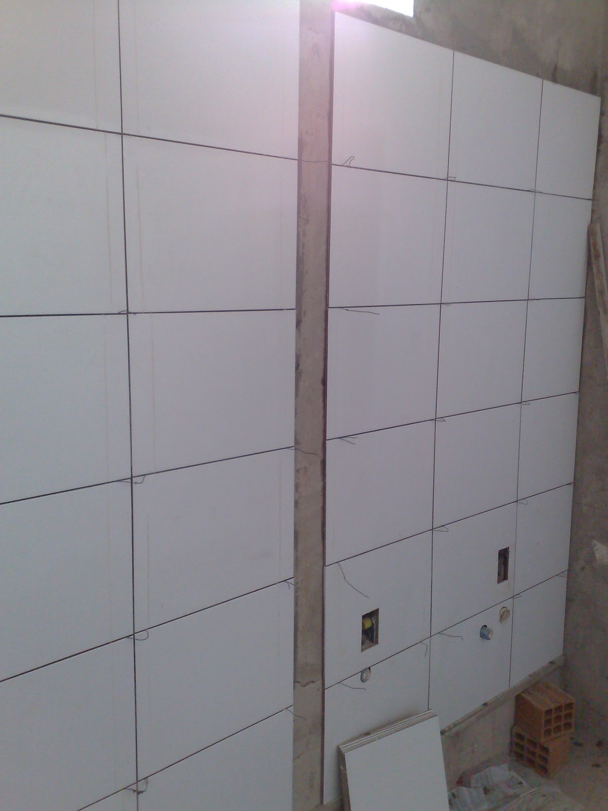 Populares Passo a passo da construção da minha primeira casa: banheiro QS99