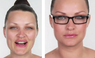 makeup style for wearing eyeglasses for girls