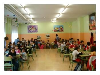 C e i p monte oroel jaca huesca comedor for Comedor de escuela