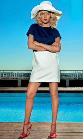 Dolores Promesas colección Resort 2013 vestido corto