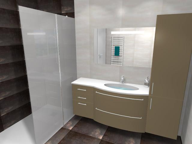 Inspiration salle de bain salle de bain m talis e - Inspiration salle de bain ...