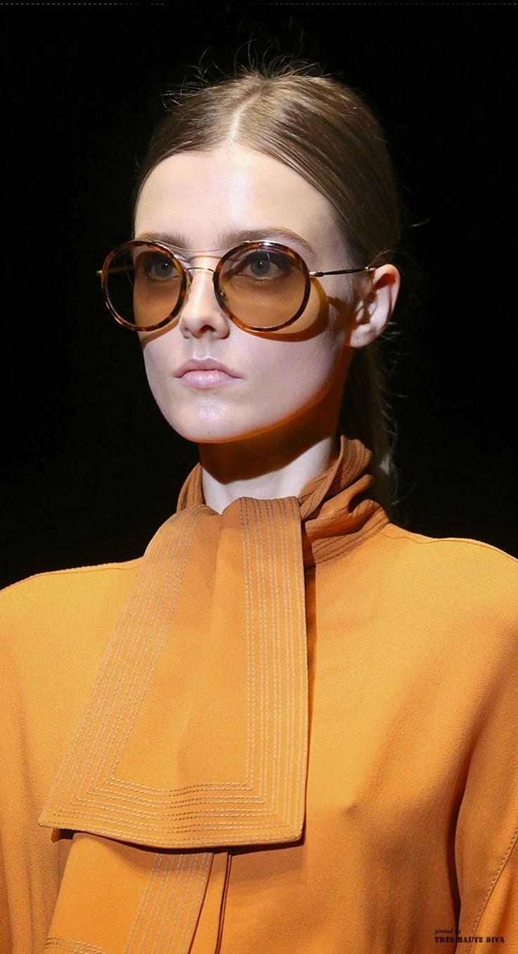 Tendências moda primavera-verão 2015 óculos redondos