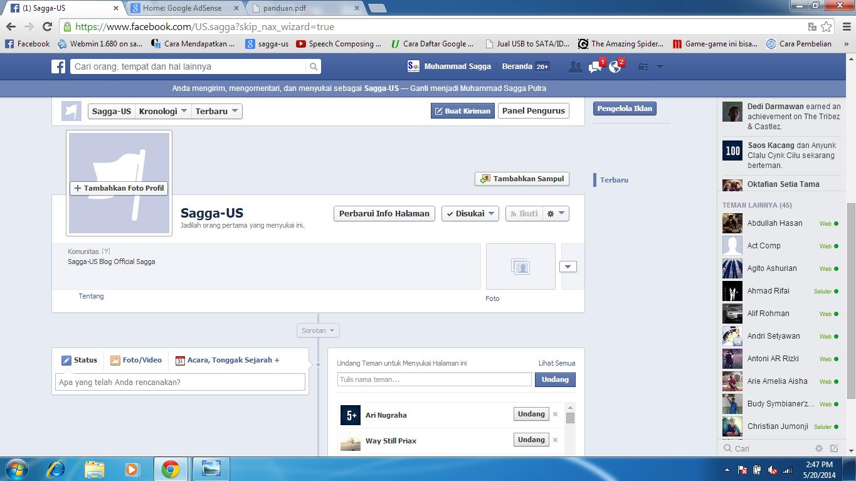 Cara Membuat Fans Page Di Facebook