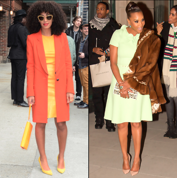 Spotted: Solange Knowles & Vivica Fox In Spring Time Style!