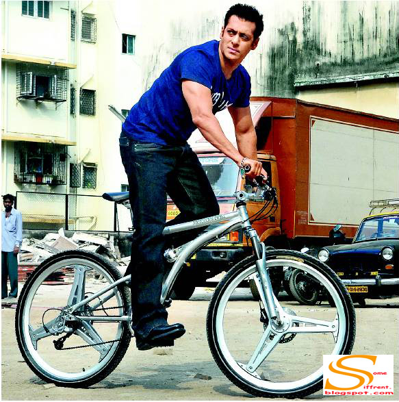 Salman Khan Bikes Wallpaper Salman Khan on His Bicycle