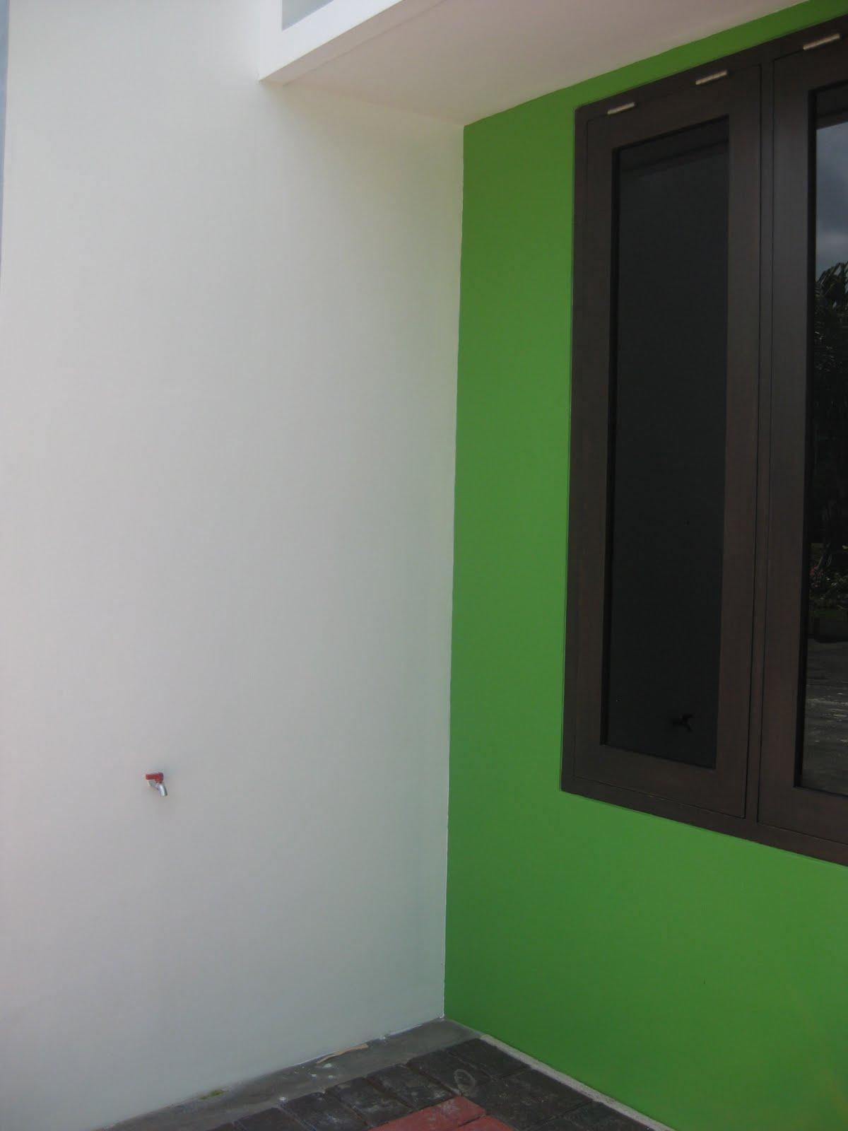 perumahan green apple depan rumah type 40