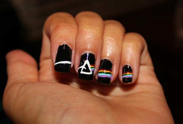 simple nail art newbies pink