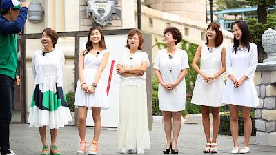 bintang tamu : Kwon Ri Sae, Park So Hyun, Kim Su Mi, Song Eun Ee and