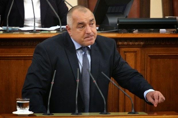 Бойко Борисов в НС (снимка: Dariknews)