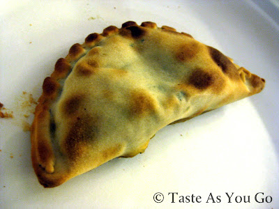 Short Rib Empanada from Nuchas in Times Square in New York, NY
