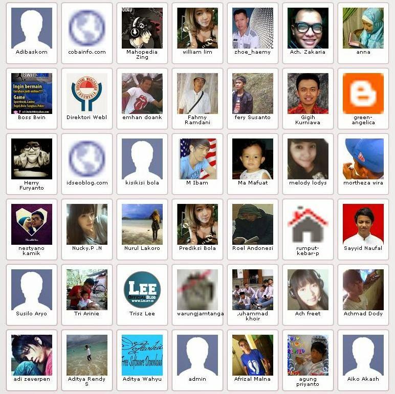 Cara Membuat Widget Member Aktif di Blog