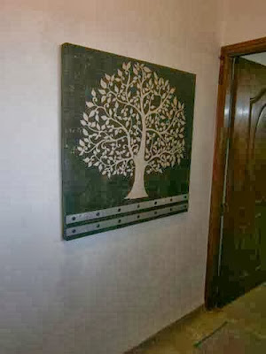 bodhi tree tree of life, entryway