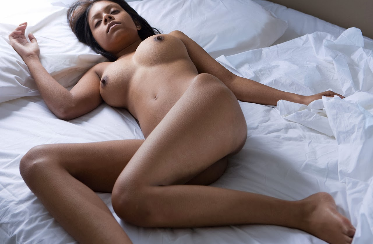 sleeping naked indian women