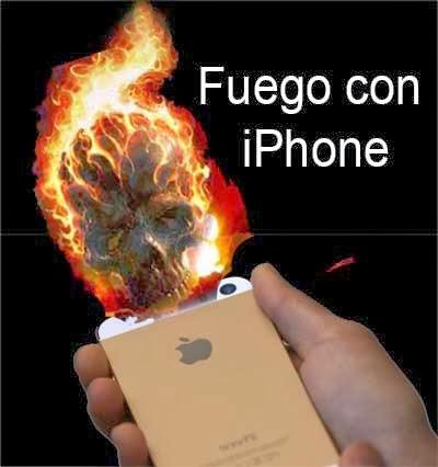 hacer fuego con un iphone