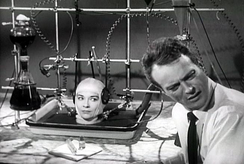 Brain that Wouldn't Die Starring Jason Evers and Virginia Leith