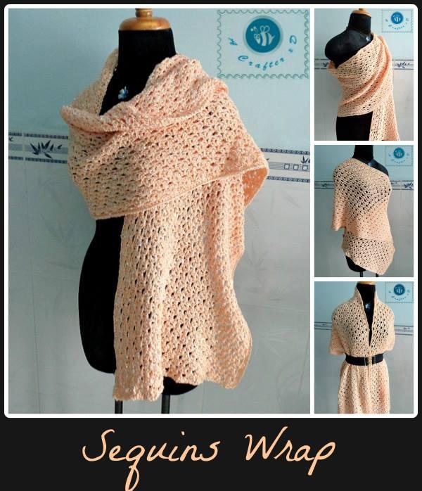 Sequins Wrap
