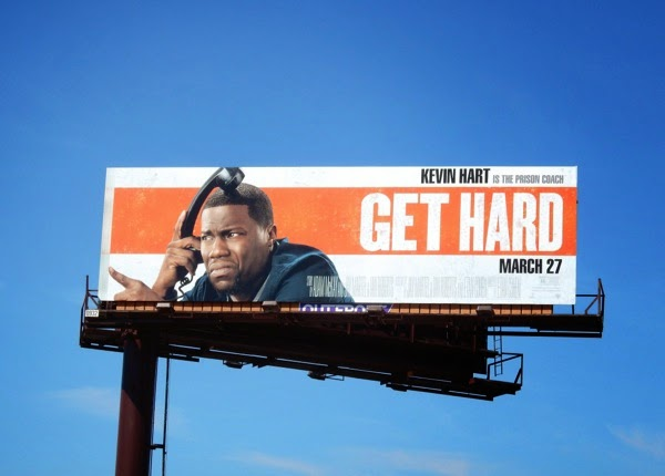 Kevin Hart Get Hard movie billboard