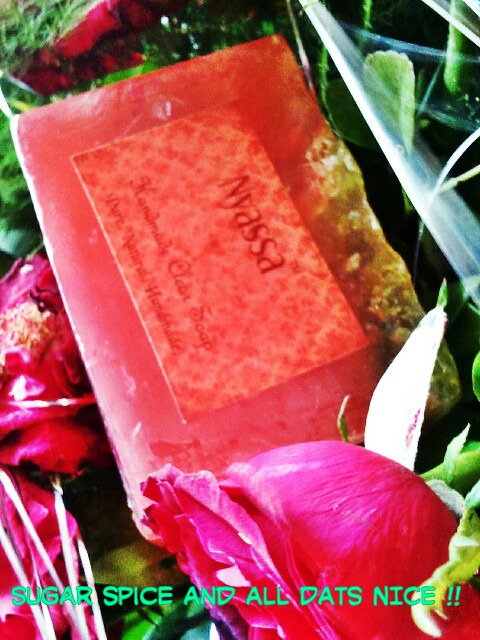 Fresh Raspberry handmade soap