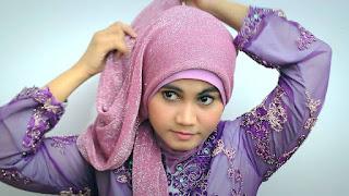 Cara Model Jilbab Kebaya