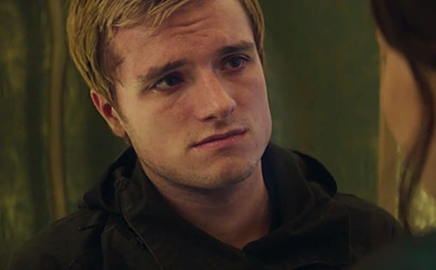 Josh Hutcherson is Peeta, and he's having some problems