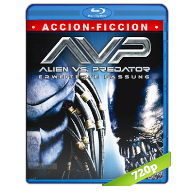 Alien Vs Depredador (2004) BRRip 720p Audio Trial Latino-Castellano-Ingles 5.1
