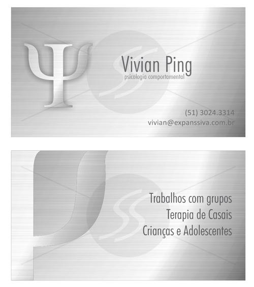 M239 cartoes de visita psicologos - Cartões de Visita para Psicólogos