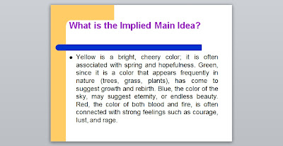 paragraph with implied topic sentence The topic of a paragraph or a sentence is what the entirety of it is all about the topic is supposed to be in the simplest form  difference between main idea .