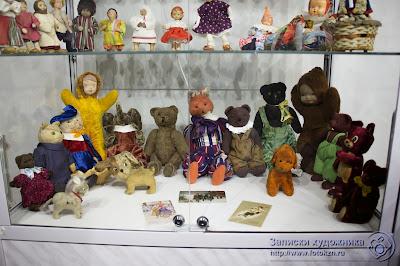 Старые детские игрушки