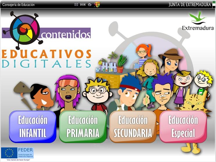 ACTIVIDADES EDUCATIVAS DIGITALES DE TODAS LAS ASIGNATURAS