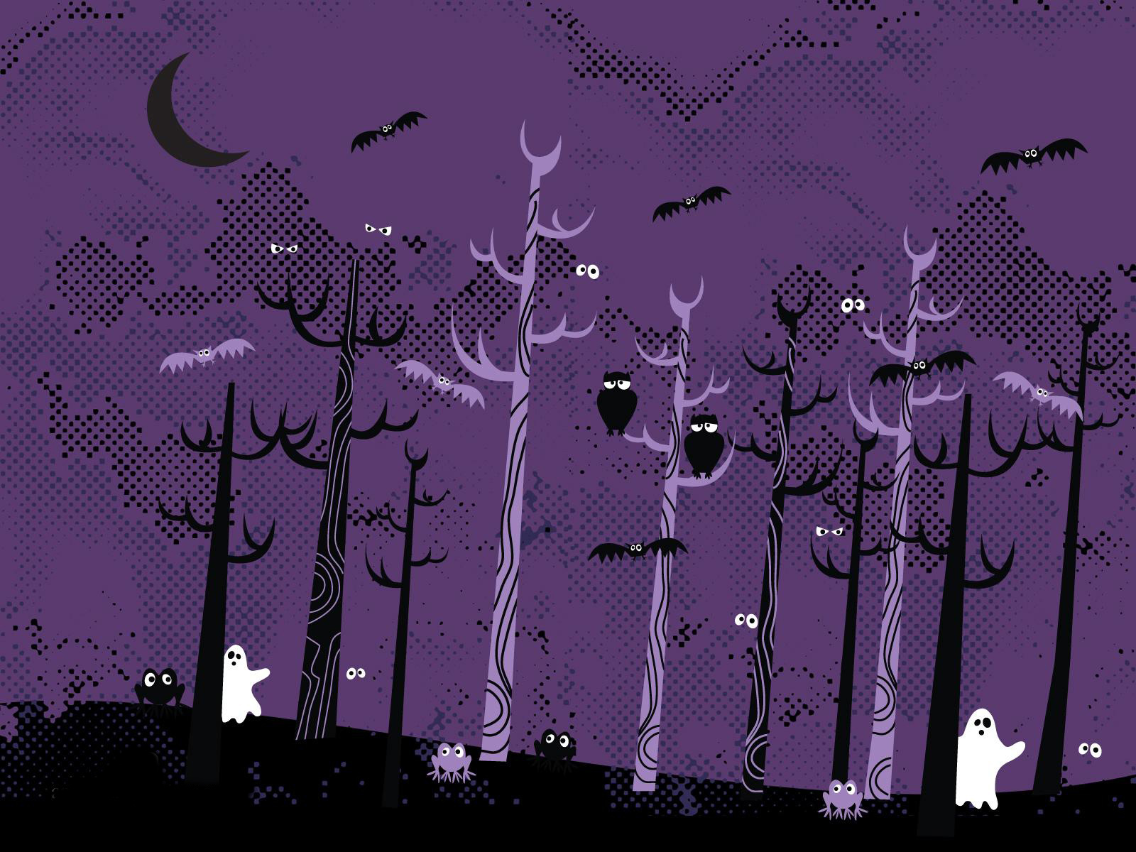 Beautiful Wallpaper Halloween Purple - 1600-x-1200-halloween-collection  Trends_626863.jpg