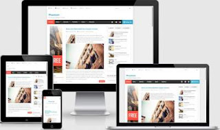template blog 3 kolom paling bagus dan responsive