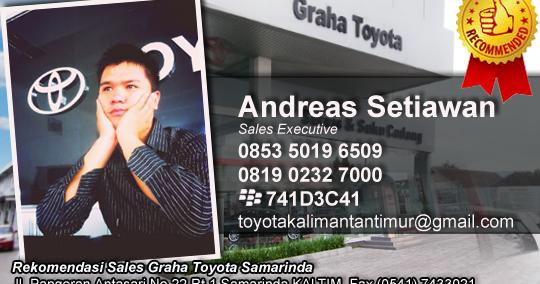 Rekomendasi Sales Toyota Samarinda Kalimantan Timur